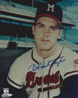 1957 BRAVES Bob Hawk Taylor signed photo AUTO Autographed 8x10 Milwaukee