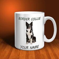 Border Collie Personalised Ceramic Mug: Perfect Gift