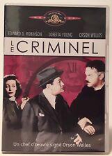 Le criminel (Orson Welles) DVD
