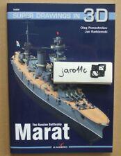 The Russian Battleship MARAT - Super Drawings in 3D - Kagero *N*E*W*!