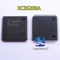 2PCS XC3S200A-4VQG100C XC3S200A QFP100 IC