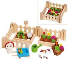 Puppenhaus Zubehör 32-teilig Accessoires mein kleiner Garten Bauernhof Goki