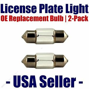 License Plate Bulb 2pk OE Replacement Fits - Listed DeLorean Vehicles - DE3425