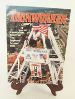 The Ironworker Vintage Magazine February 2000 Issue Martin Byrne Iron Workers