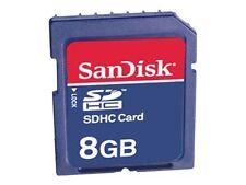 SanDisk Class 4 SDHC 8gb Speicherkarte
