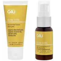 Naturally G4U Glow Girl Bundle Set Lot Serum Peel Mask Kombucha Aloe Sealed NEW