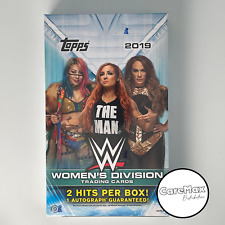 2019 WWE Women's Division Hobby Box Factory Sealed   WWE Divas