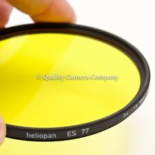 Heliopan Slim Yellow 8 BW Contrast Filter - 77mm GERMAN SCHOTT GLASS - EXCELLENT