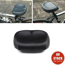 Extra Comfort Wide Big Bum Bicycle Bike GEL Cruiser Sporty Soft Pad Saddle Seat