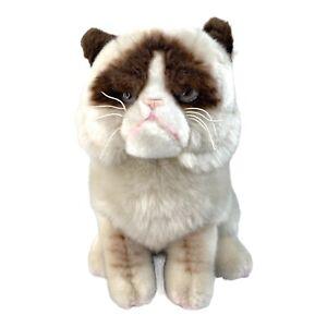 "Grumpy Cat Tan Brown Kitten Original 10"" Plush Stuffed Toy Gund 4040133"