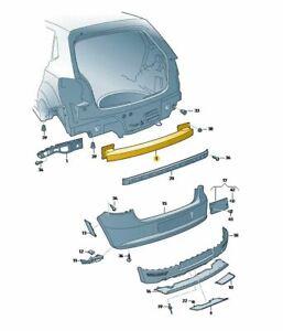 Original VW Querträger für den Stoßfänger hinten für VW Polo 2010-2018