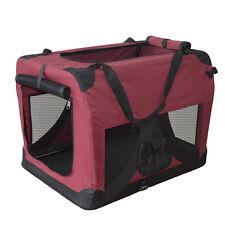 Hundetransportbox faltbare Hundebox Transportbox Autotransportbox Faltbox NEU XL