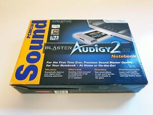 Creative Sound Blaster Audigy 2 ZS Notebook (PCMCIA)