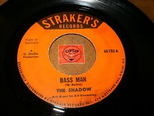THE SHADOW - BASS MAN - AH COME OUT TO PLAY  / LISTEN - CALYPSO