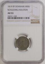 1819IFF  8 Reichsbank Schilling Schleswig Holstein KM# 152 NGC AU53