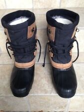 Mens Sz 12 Sorel winter boots with felt liners, Kaufman Canada, nice condition