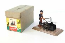 Fleischmann #232 Tin Blacksmith & Anvil w/ Box - Live Steam Toy Addition