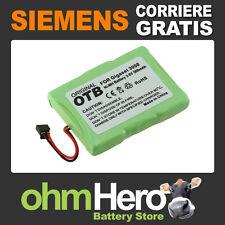 Batteria per telefono cordless Siemens Gigaset 3000 Micro