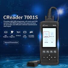 Automotive ABS SRS LAUNCH CR7001S OBD2 Scanner Diagnostic Tool Oil Reset CRP123