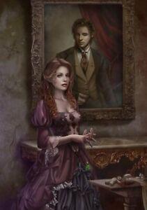 The Scene Behind - 1000 piece puzzle / cris ortega, fantasy art