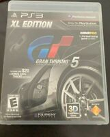 Gran Turismo 5 -- XL Edition PS3 PlayStation 3 Complete-Free Shipping *TESTED*