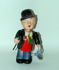 """Charlie Chaplin Wind-Up Celluloid Toy 5 1/2"""" tall 1930s Japan"""
