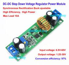 10A DC-DC 6.5V-60V to 3V 5V 12V 24V Step Down Voltage Regulated Power Converter