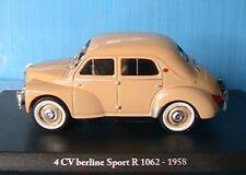 RENAULT 4CV BERLINE SPORT R1062 1958 ELIGOR 1/43 BEIGE