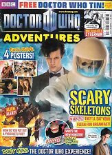DOCTOR WHO ADVENTURES #207 (2011) with centre page Cybermen poster