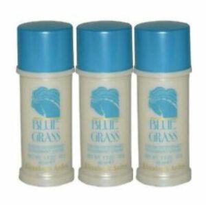 Blue Grass for Women by Elizabeth Arden Cream Deodorant 1.5 oz - Pack of 3