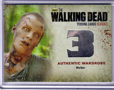 WALKING DEAD SEASON 3 PART 2 WALKER WARDROBE CARD #W5