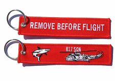 817 Squadron Sea King Remove Before Flight Key Ring Luggage Tag