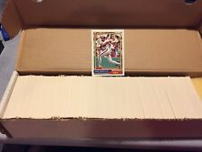 1992 Topps Baseball Partial Set 758 / 792