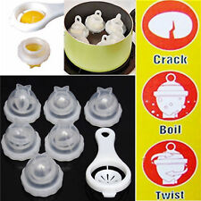 US! TV Egglettes Egg Cooker Hard Boiled Eggs without the Shell 6 Egg Cups Soft