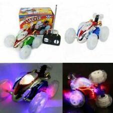 Turbo 360 Twister RC Stunt Car Flashing Light Dasher Vehicle Remote Control Toys