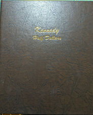 Dansco 7166 Kennedy Half Dollars Album Incl. 21 Circulated Coins