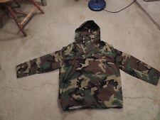 Mens U.S. Military Army Parka Woodland Camo Gore-Tex Jacket  Large Regular