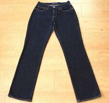 Levis Ladies Bold Curve Classic Straight Leg Dark Blue Jeans Size W30 L32