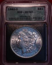 1882-O New Orleans Mint Silver Morgan Dollar ICG MS 62