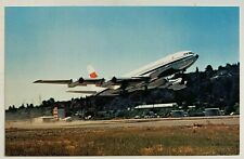 Vintage Postcard Caac China Airlines Boeing 707 aircraft airplane (Mary Jayne's)