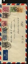 Palestine  great  franking  cover to   US        HC0401