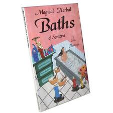 Magical Herbal Baths of Santeria by Carlos Montenegro (Paperback)
