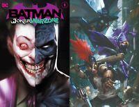 DC Comics Batman the Joker War Zone #1 Main+Chew Variant NM 9/29/2020 Pre-Sale