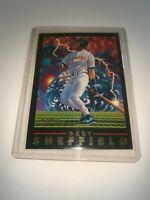 Gary Sheffield Fleer 1993 Thunderbolt 3 of 3 Baseball Card