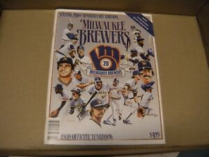 Milwaukee Brewers 1989 Official Yearbook - 20th Anniversary