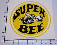 SUPER BEE GELB Aufkleber Sticker Hot Rod Kult OEM WCC JDM USA Leider Geil Mi110