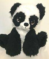 Build a Bear Workshop Plush BABY PANDA CUB Big Eyes White Black Stuffed Animal