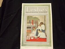 1910 DECEMBER 22 LESLIE'S WEEKLY MAGAZINE - GREAT PHOTOS & ADS - ST 1173