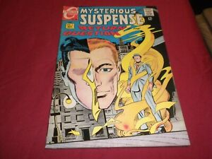 RA1 Mysterious Suspense #1 charlton 1968 silver age 4.0/vg comic! RARE ISSUE!