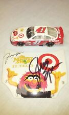 Jimmy Spencer Autograph Target The Muppet Show 25 Years Hood & 1/64 Diecast 2002